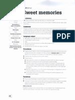 Sweet Memories Teacher's Notes