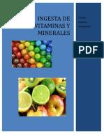 Vitaminas y Minerales.dietetica.