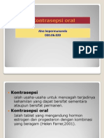 Kontrasepsi Oral Hormonal ALSE