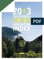 2013 California Green Innovation Index