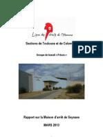 Rapport Seysses Gt Prison Toulouse-colomiers 05-03-13