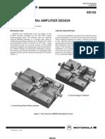 EB-105 a 30 Watt 800 MHz Amplifier Design