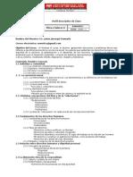 Perfil Descriptivo Ética II