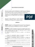 Resolución de Alcaldía 57/2013