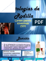 Patologias de Rodilla