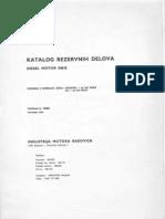 Katalog Delova IMR S-46K