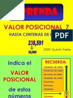 Valor Posicion Al 07