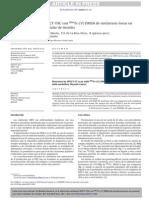 Detección mediante SPECT-TAC con 99mTc-(V) DMSA