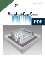 MICS Mitsubishi Integrated Compact Substation