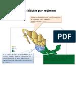 División de México por regiones