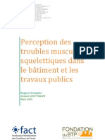 Rapport TMS BTP Sante Prevention