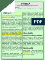 APOSTILA 01 - Literatura Clássica Grécia e Roma - 3º ENEM