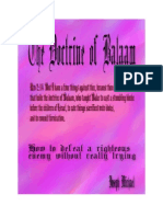 The Doctrine of Balaam
