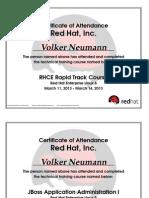 Volker Neumann, RED HAT Enterprise LINUX SystemAdministration in RED HAT Enterprise Linux_6.0,  3  Certificates, 2012-2013.pdf