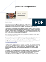 Prof Arsen Open Letter to Gov Snyder
