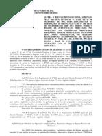 DECRETO Nº 23.179-2012 ALTERA O RICMS, PARA IMPLEMENTAR AS DISPOSIÇÕES DO PROTOCOLO ICMS Nº 106, DE 16 DE NOVEMBRO DE 2008 - CO