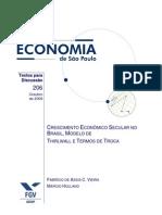 FGV Economia Brasil