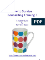 Rory Lees-Oakes - How to Survive Counselling Training