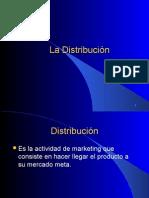 La Distribucion