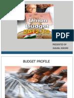 2012-13 Budget Presentation as of 1-4-12 Jugunu