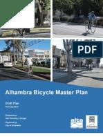 Read the final draft of Alhambra's Bike Master Plan