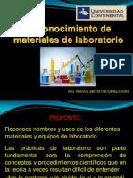 Reconocimiento de Materiales y Equipos de Laboratorio-2013-1