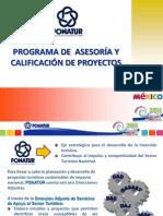 Asesoria y Calificación de Proyectos FONATUR