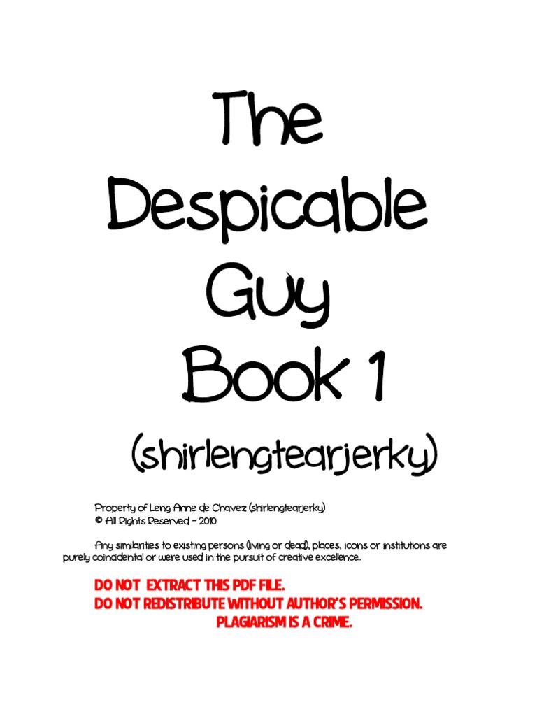 Despicable Guy 2 Pdf