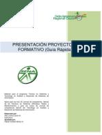 Formato Proyecto TECNÓLOGO