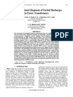 Knowledge-Based Diagnosis of Partial Discharges in Power Transformers