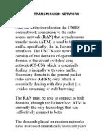 Umts Transmission Network