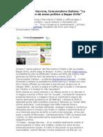 Garrone Comunicatore Italiano, M5S si rafforza dopo il boom elettorale