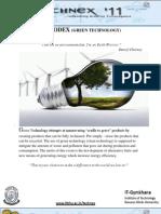 Green Technology Portfolio