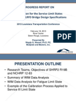 S4_Calibration of the Service and Fatigue Limit States in AASHTO LRFD Bridge Design Specifications_LTC2013