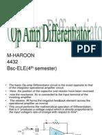 Op Amp Differentiator