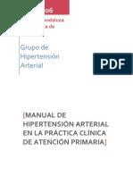Manual Hipertension Arterial Junio 2006