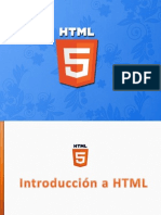 Sesion 01 - HTML