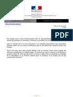 Communique Bercy 2