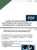 CURSO DE MANTENIMIENTO ELECTRÓNICO 2013-03-04