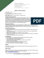 Job Description Interpreter FY09