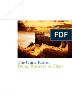 The China Factor - Doing Business in China - Deloitte - 2012