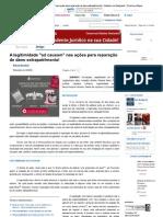A legitimidade _ad causa...andi - Doutrina e Peças