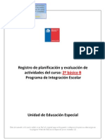 Registro PIE 2012 Ejemplo