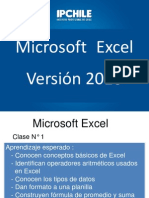 Clase 1 -Excel