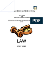 Cape Law Study Guide 1