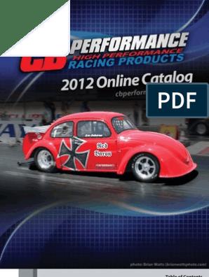 CB Performance 2012 Catalog | Carburetor | Turbocharger