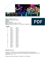 Gildenevent de Saison 2