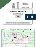 MICHOACAN_IBM_2010 Banco de Materiales