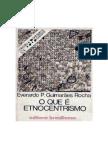Everardo Rocha - O Que e Etnocentrismo