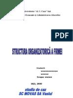 Structura Organizatorica a Firmei (1)